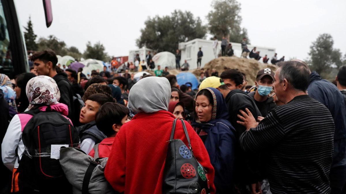 Μόρια Λέσβος- Πρόσφυγες