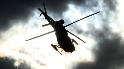 Ελικόπτερο συννεφα