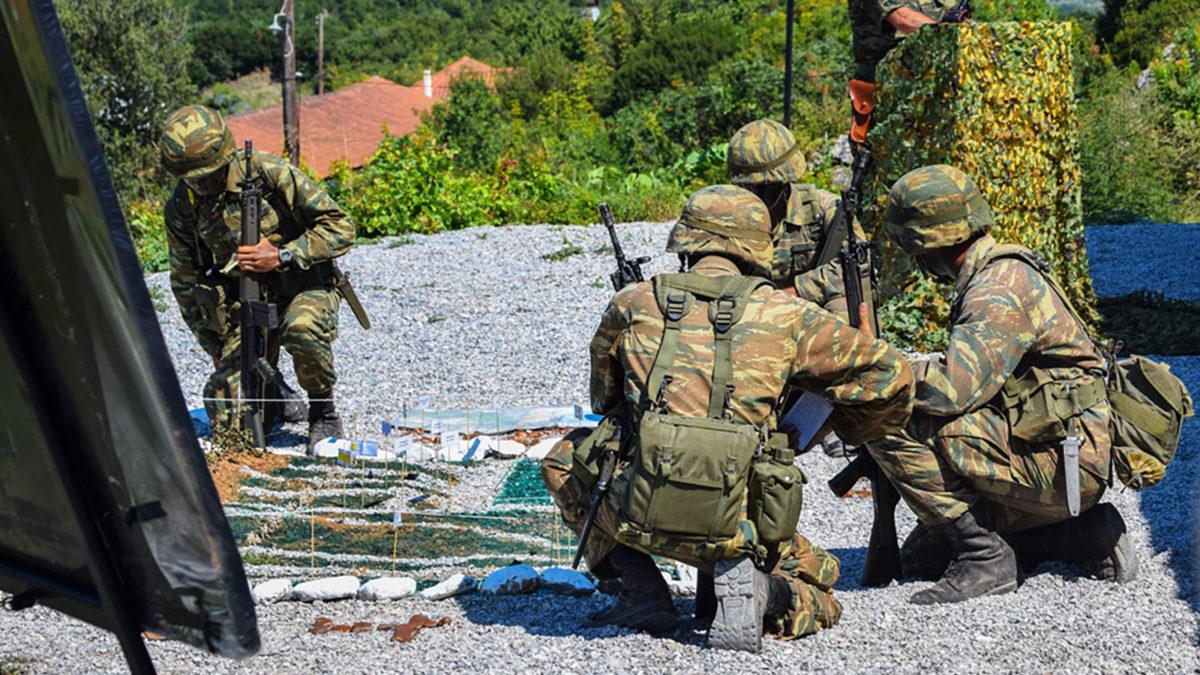 Στρατός-Εκπαίδευση Ευέλπιδων