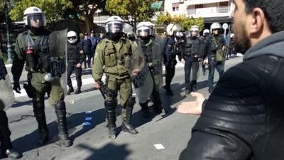 Αστυνομία ΜΑΤ Καλλιθεα
