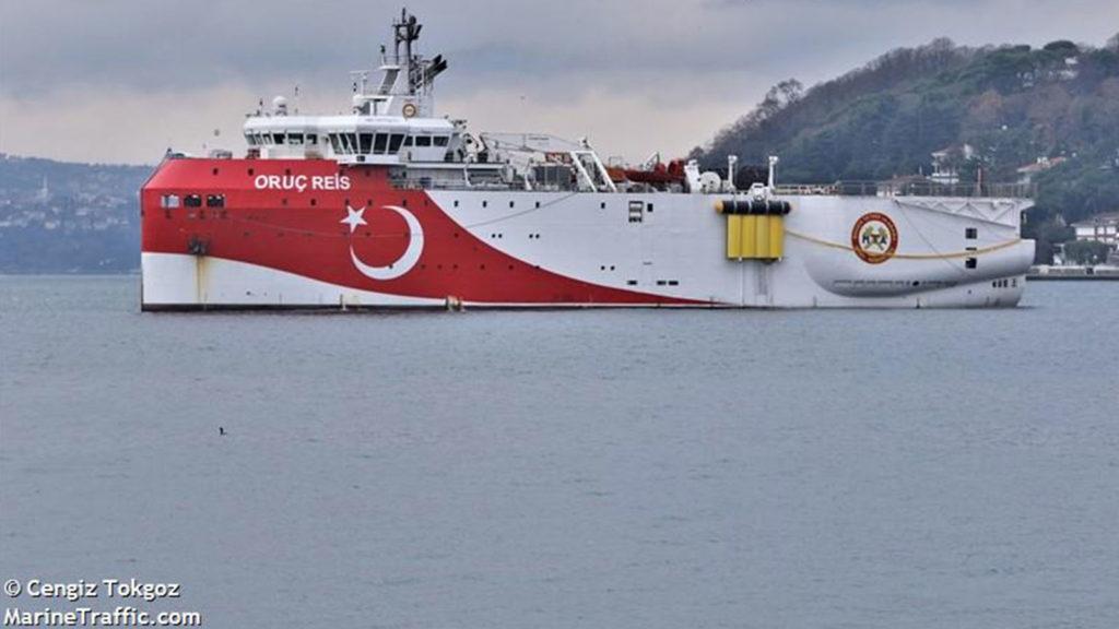 Τουρκικο πλοίο- Oruc-Reis