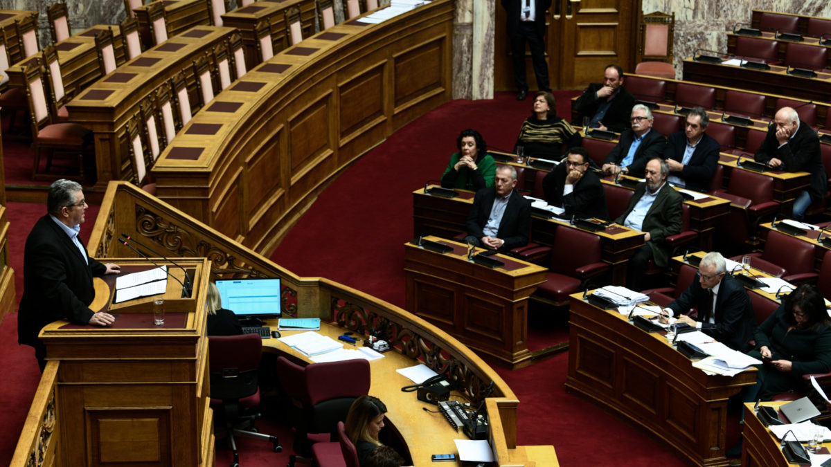 Κοινοβουλευτική Ομάδα ΚΚΕ