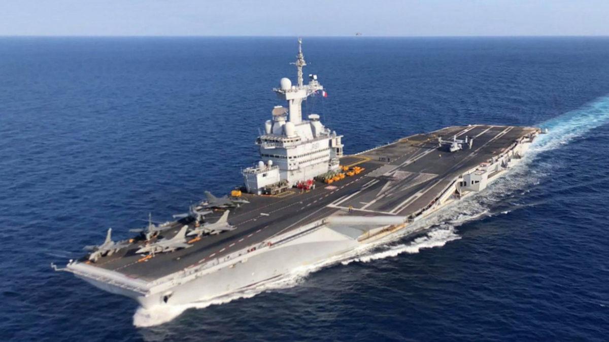 Αεροπλανοφόρο πλοίο Σάρλ Ντε Γκολ