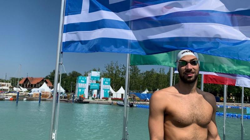 Κολύμβηση Θανάσης Κυνηγάκης στη Ντόχα