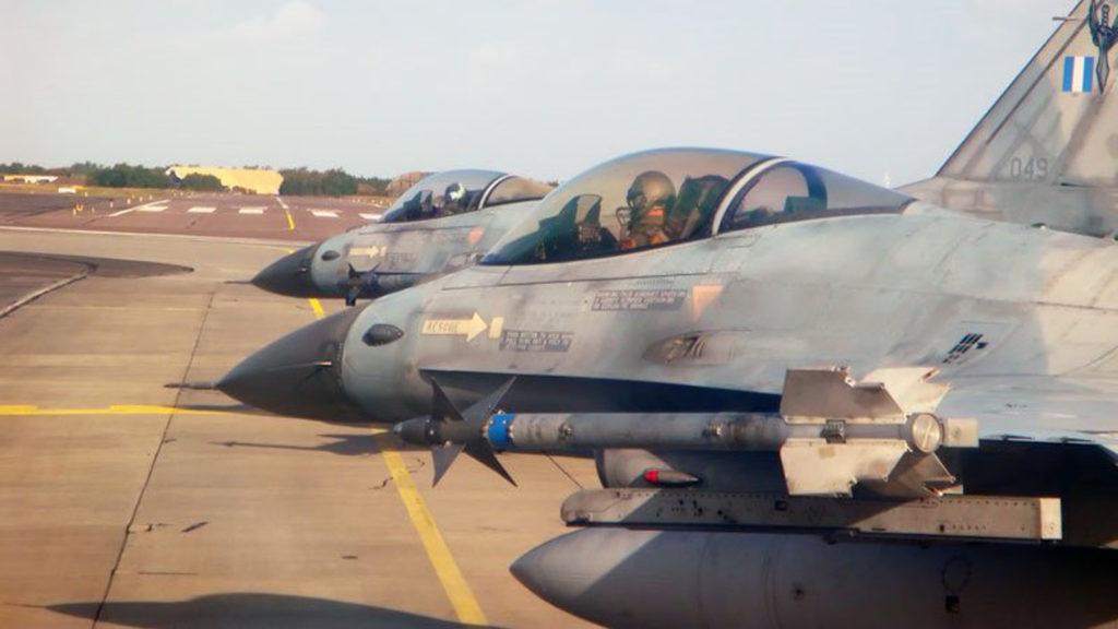 Ελληνικά F16 σε Νατοϊκή Άσκηση στη Δανία