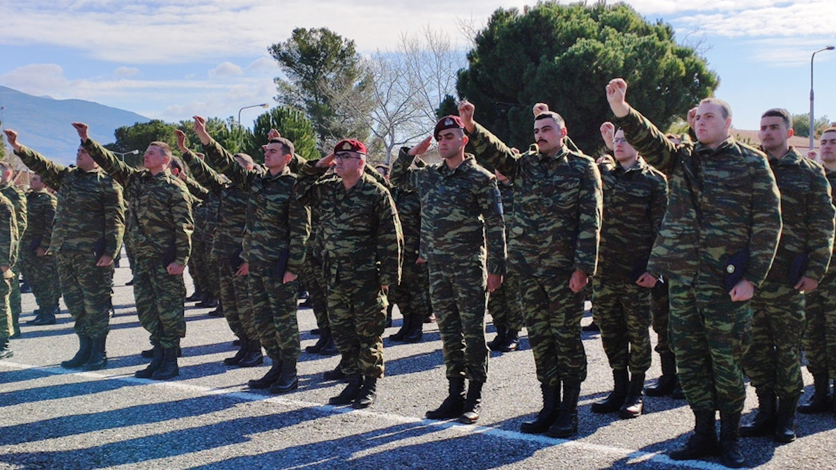 Ορκωμοσία Νεοσυλλέκτων Στρατιωτών-Βόλος