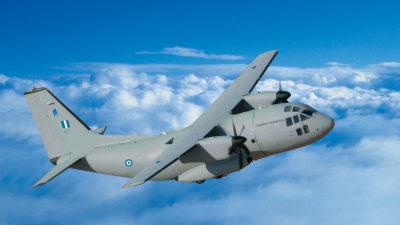 C27 Μεταγωγικό Αεροσκάφος της Πολεμική Αεροπορίας
