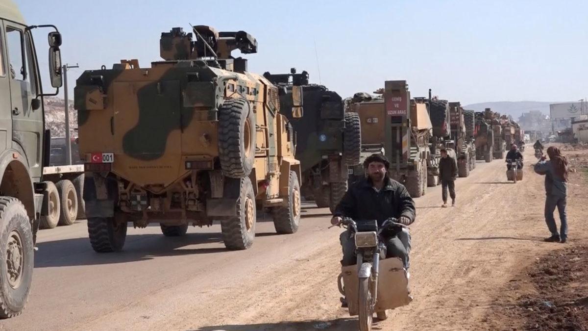 Συρία τουρκικός στρατός