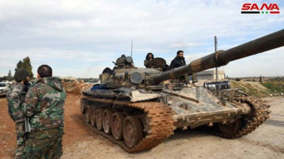 Συρία - Ιντλίμπ: Συριακά στρατεύματα