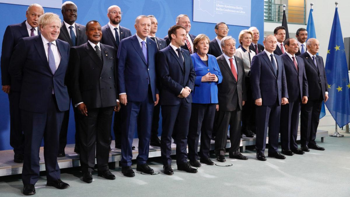 παλιότερη συνάντηση Υπουργών Εξωτερικών για τη Λιβύη