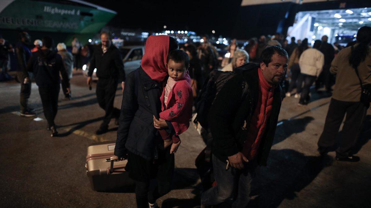 Πρόσφυγες - Πειραιάς