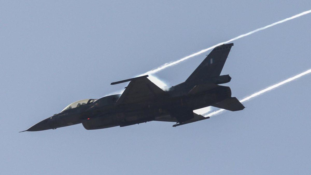 "F16 ΤΗΣ ΟΜΑΔΑΣ ""ΖΕΥΣ"" ΣΤΗΝ ΔΙΑΚΛΑΔΙΚΗ ΑΣΚΗΣΗ ""ΜΕΔΟΥΣΑ""(EUROKINISSI/ΓΙΩΡΓΟΣ ΚΟΝΤΑΡΙΝΗΣ)"