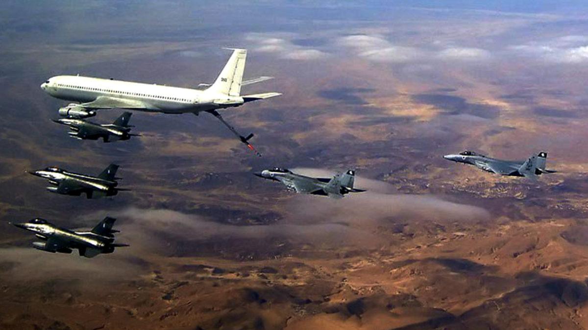 Ελληνική Πολεμική Αεροπορία - Συνεκπαίδευση με Ισραηλινή ΠΑ - ανεφοδιασμός εν πτήση στο Ισραήλ