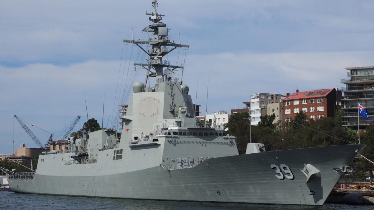 Αντιτορπιλικό Βασιλικού Ναυτικού Αυστραλίας Hobart (DDG 39)