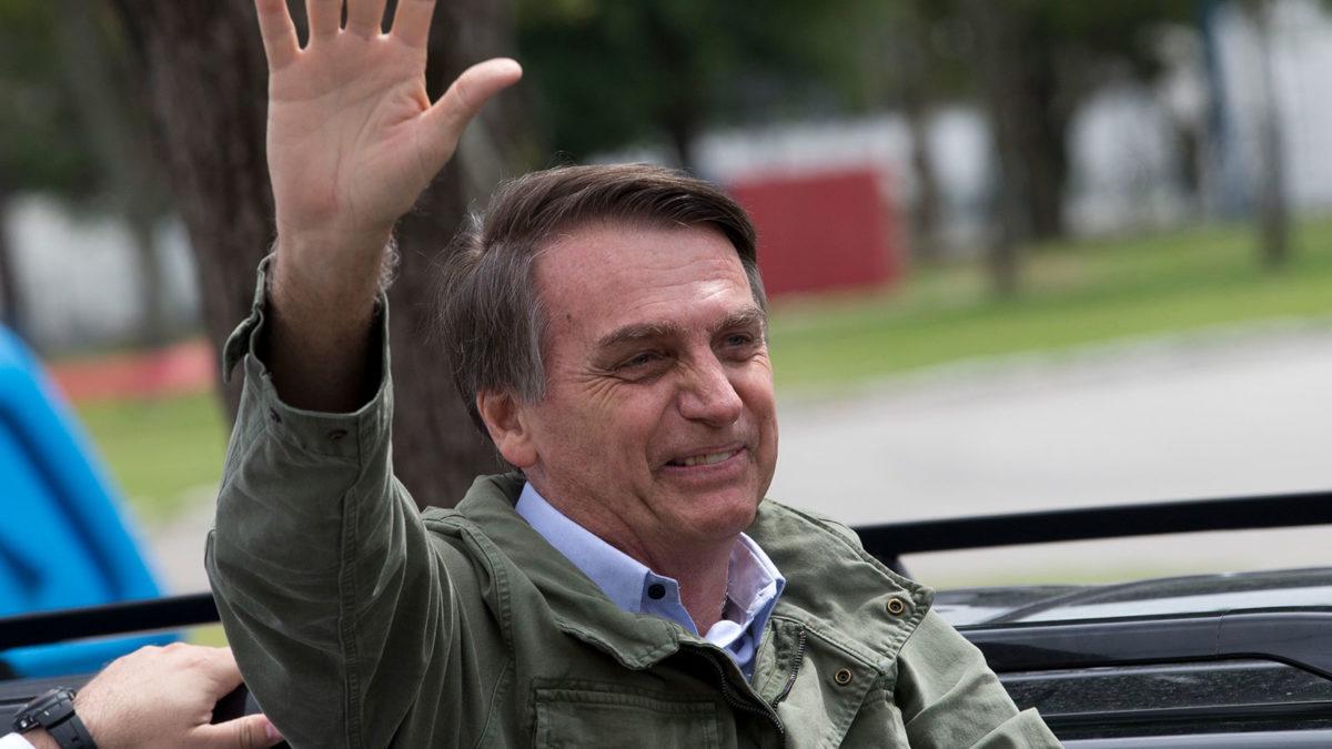 Ο πρόεδριος της Βραζιλίας, Μπολσονάρο