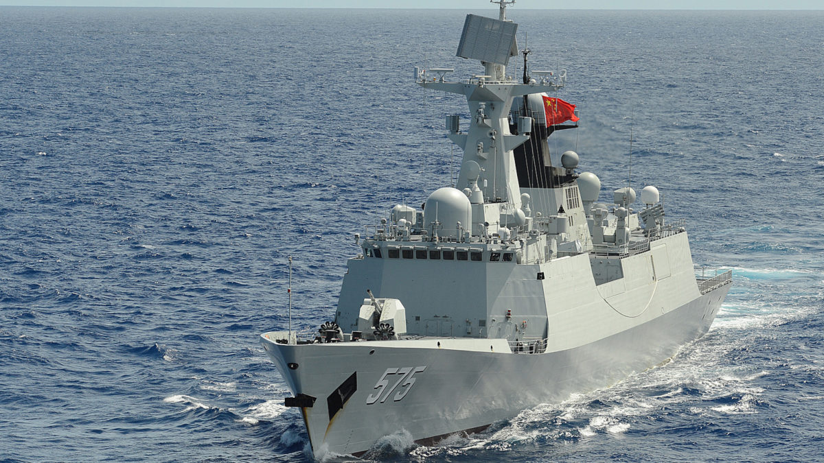 Κινέζικη Φρεγάτα 054Α-πλοίο
