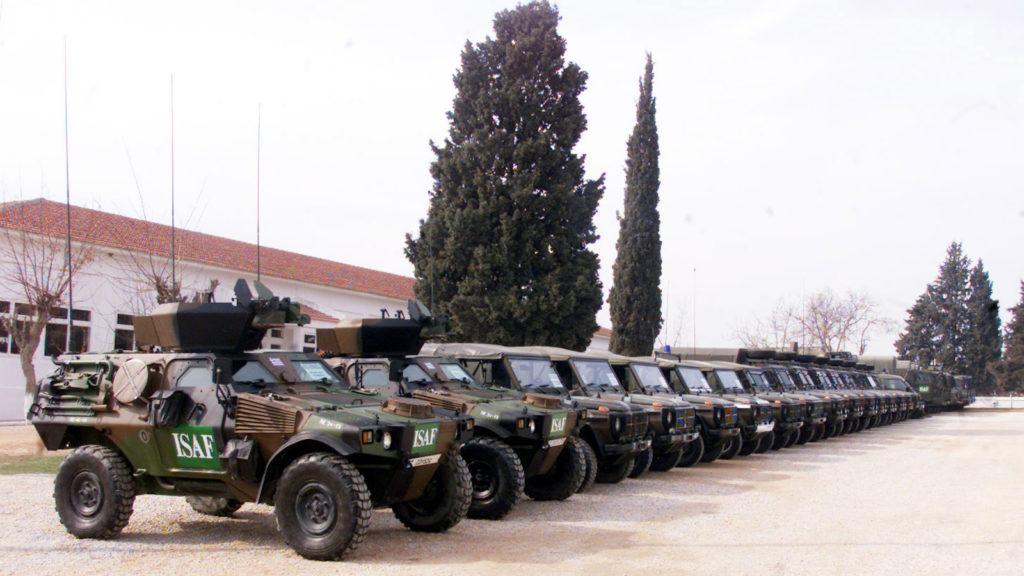 Ελληνική Δύναμη Αφγανιστάν / Τελετή αναχώρησης στη Νέα Σάντα Κιλκίς Γενάρης 2002 -3