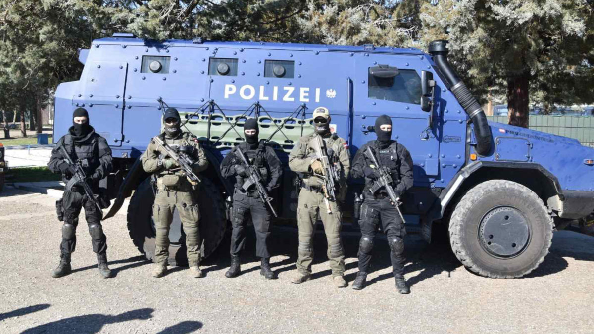 FRONTEX Αυστριακοί στον Έβρο