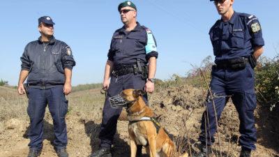 FRONTEX πεζοπόρο σκυλιά