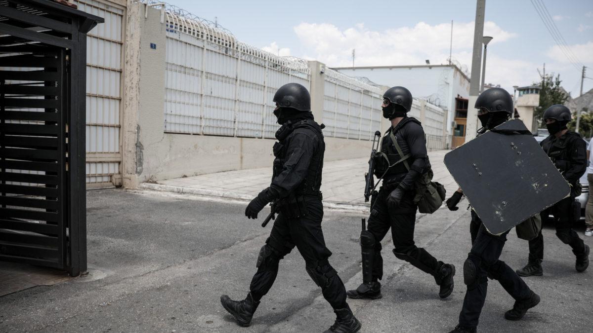 Φυλακές Κορυδαλλού Ταραχές Αστυνομία