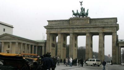 Γερμανία Βερολίνο Πύλη Βρανδεμβούργου