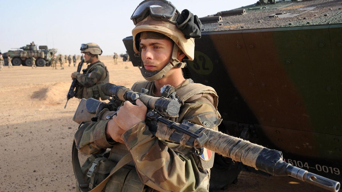 Γάλλος στρατιώτης Λεγεωνάριος στο Μάλι