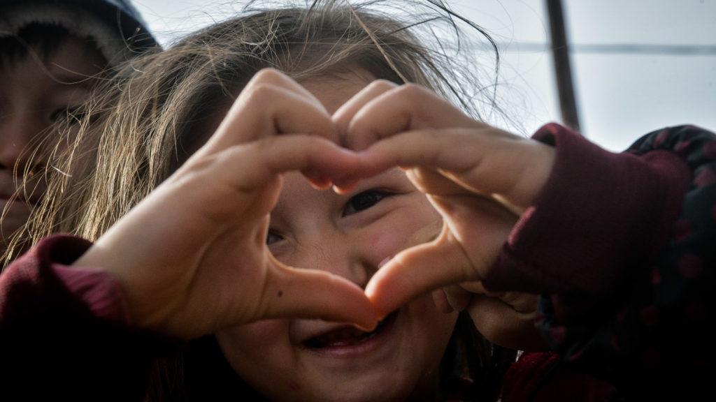 Παιδί μετανάστης στη Λέσβο1