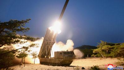 Βόρεια Κορέα Πυραυλική Δοκιμή