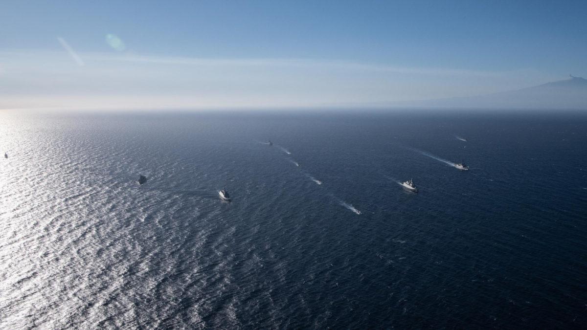 Στόλος-Πλοίο-Άσκηση