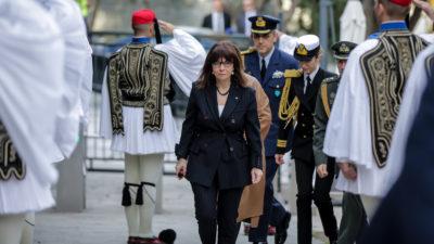 Κατερίνα Σακελλαροπούλου, Πρόεδρος Δημοκρατίας