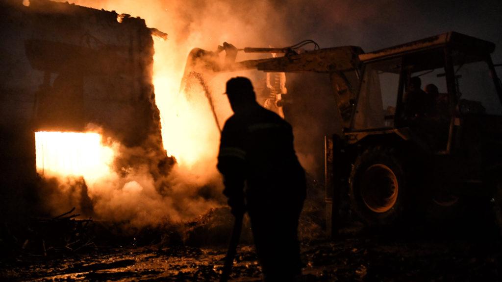 Φωτιά Πυρκαγιά Κορινθία1