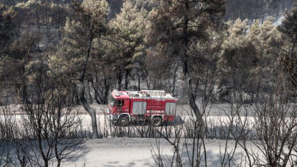 Πυροσβεστικό Πυρκαγιά Εύβοια 2019