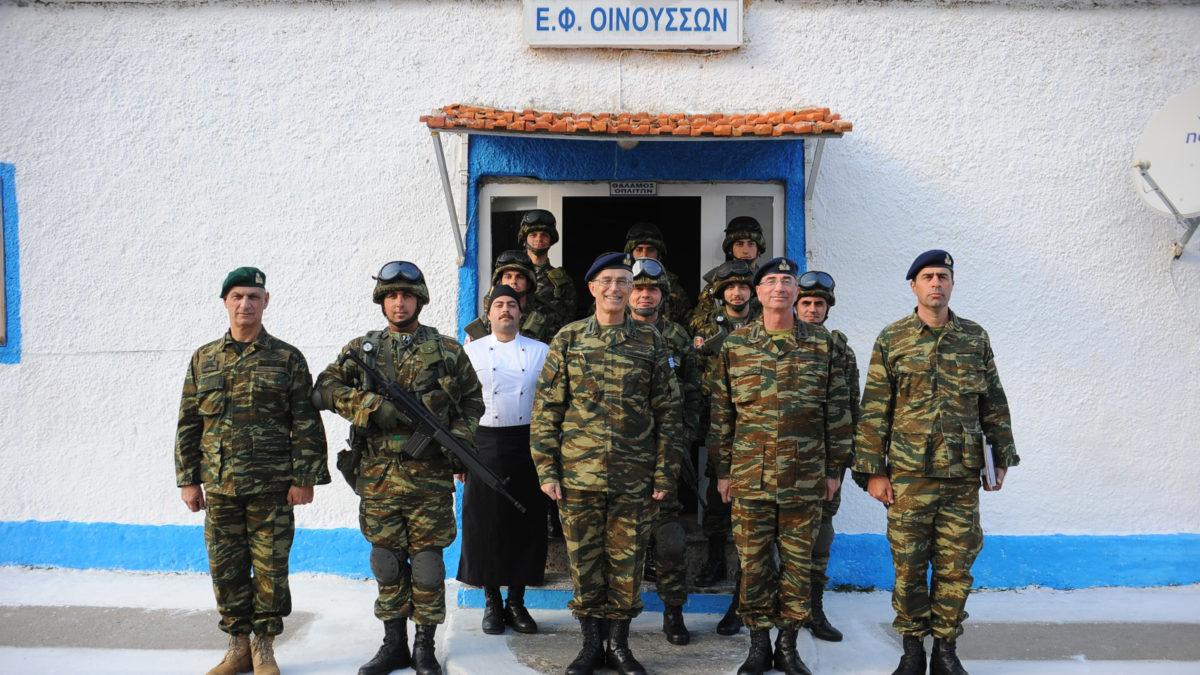Χίος, Οινούσσες, 96ΑΔΤΕ Στρατιώτες με ΑΓΕΣ