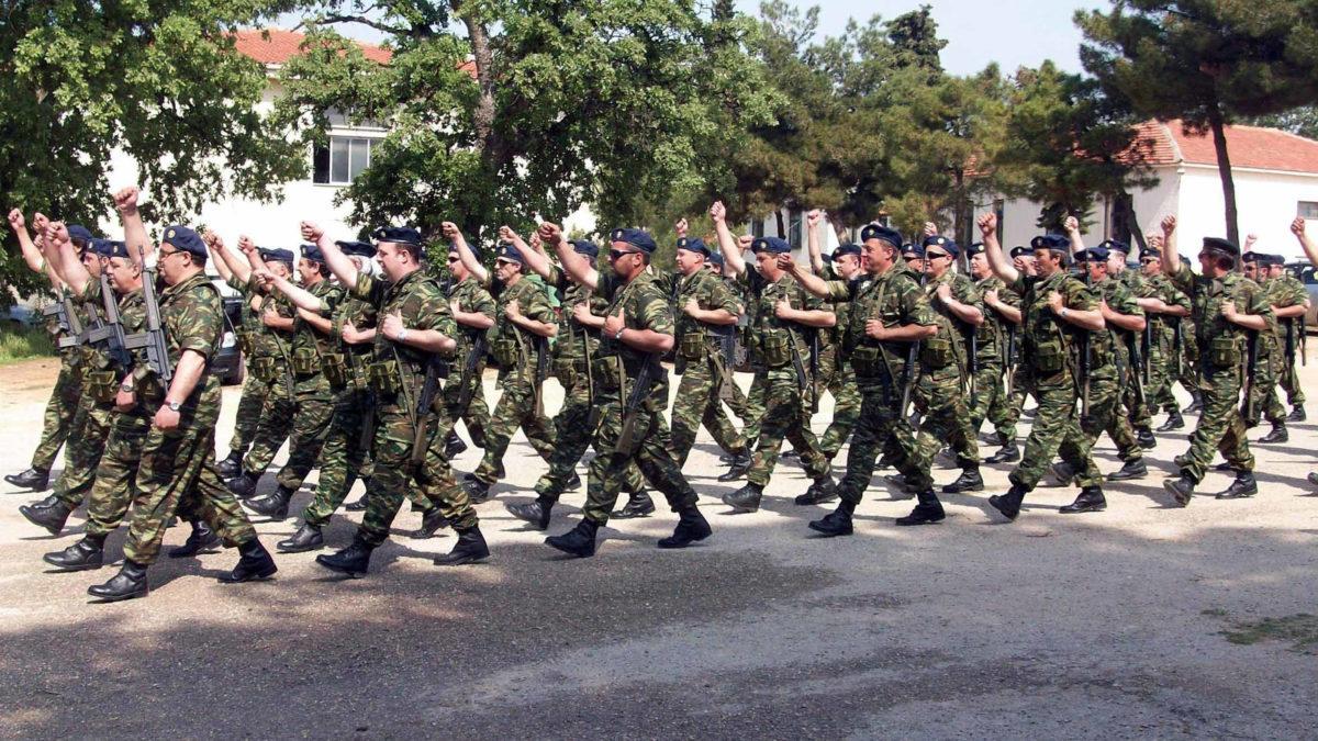 Στρατιώτες στην Αλεξανδρούπολη