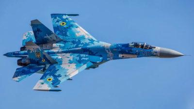 Ουκρανικό μαχητικό αεροσκάφος SUKHOI 27 (SU-27)