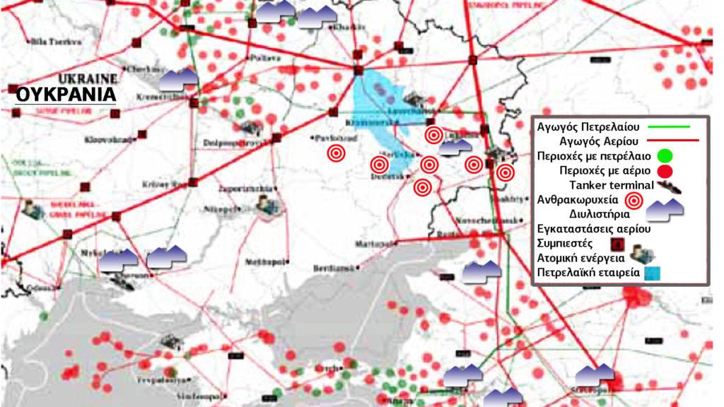 Ουκρανία Ενέργεια - Υβριδικός Πόλεμος