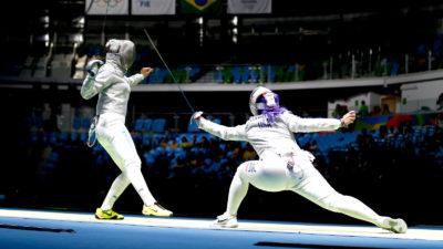 Ξιφασκία ολυμπιακοί ΡΙΟ