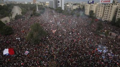 Χιλή διαδήλωση
