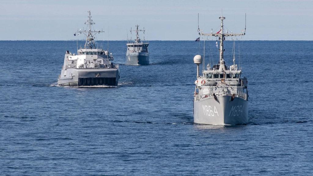 Νατοϊκή Άσκηση Ναρκοπολέμου στο Φινλανδικό Αρχιπέλαγος