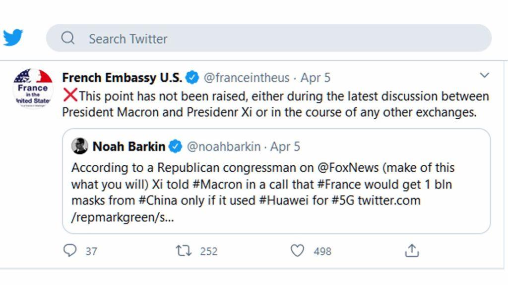 Γαλλία -tweet