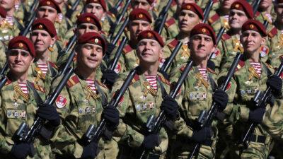 Ρωσικός Στρατός σε παρέλαση