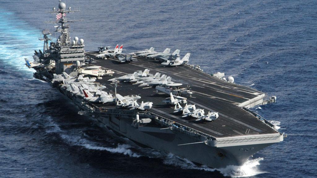 Πλοίο - Αεροπλανοφόρο Ρούσβελτ - ΗΠΑ