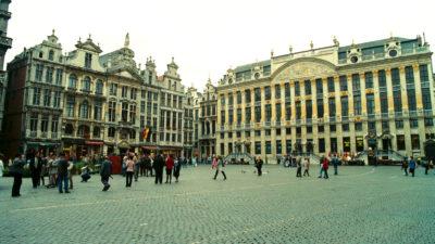 Πλατεία Γκρότε Μαρκτ - Βρυξέλλες - Βέλγιο