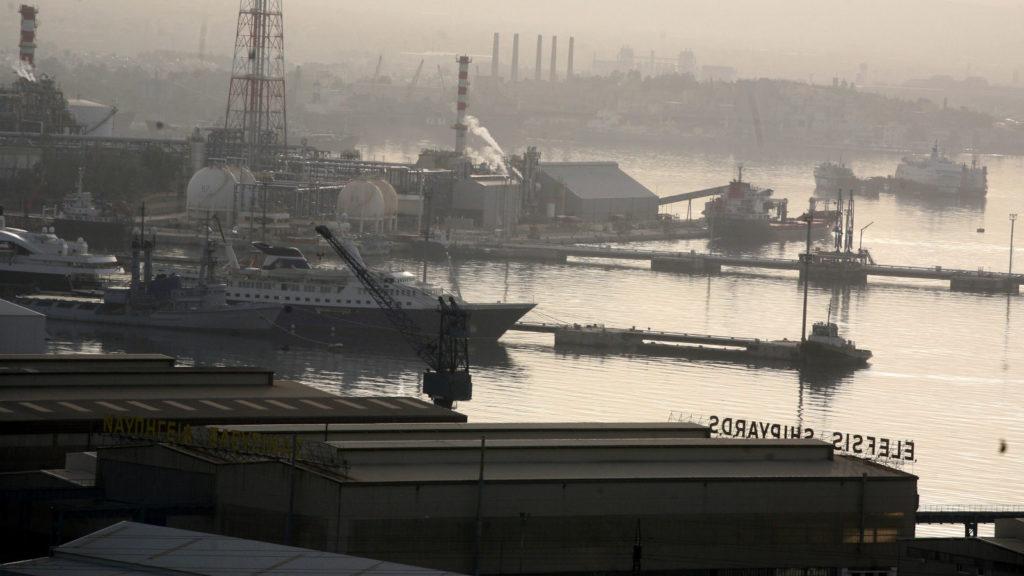 Βιομηχανική Ζώνη Ελευσίνας