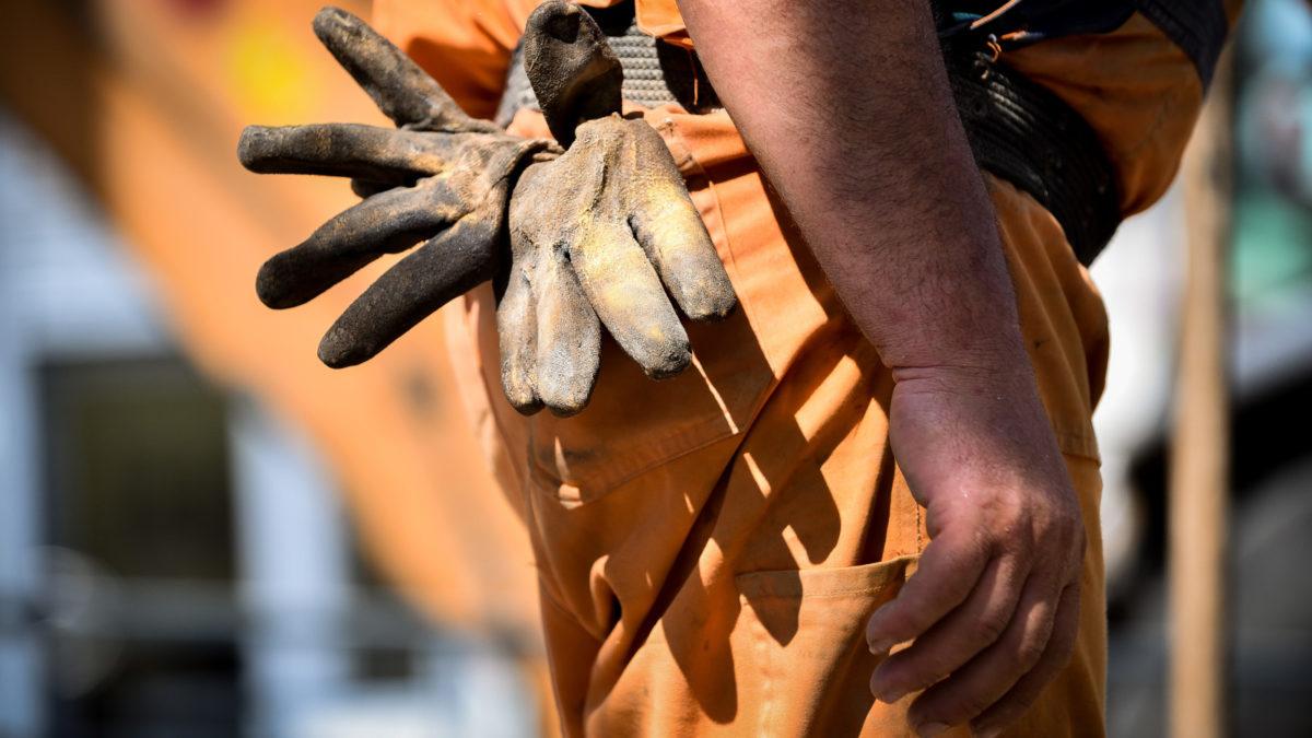 Εργάτης ζώνη γάντια εργασίας