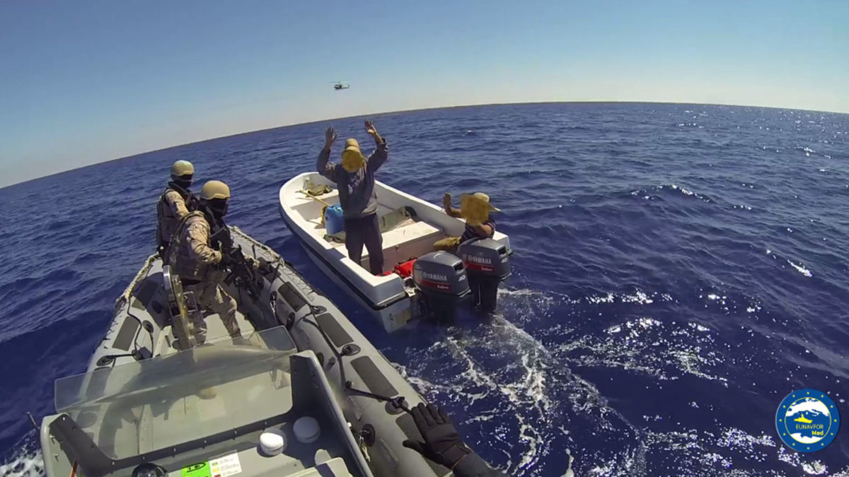 ΕΕ επιχείρηση Λιβύη μεταναστες σύλληψη