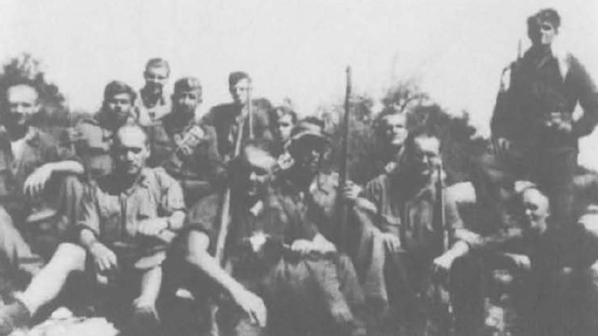 Γερμανοί αντιφασίστες με αντάρτες ΕΛΑΣ
