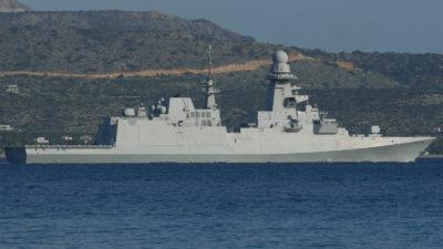 Ιταλική Φρεγάτα ITS Virginio Fasan - F591-πλοίο