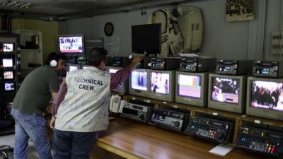 Εργαζόμενοι σε κανάλι-μμε