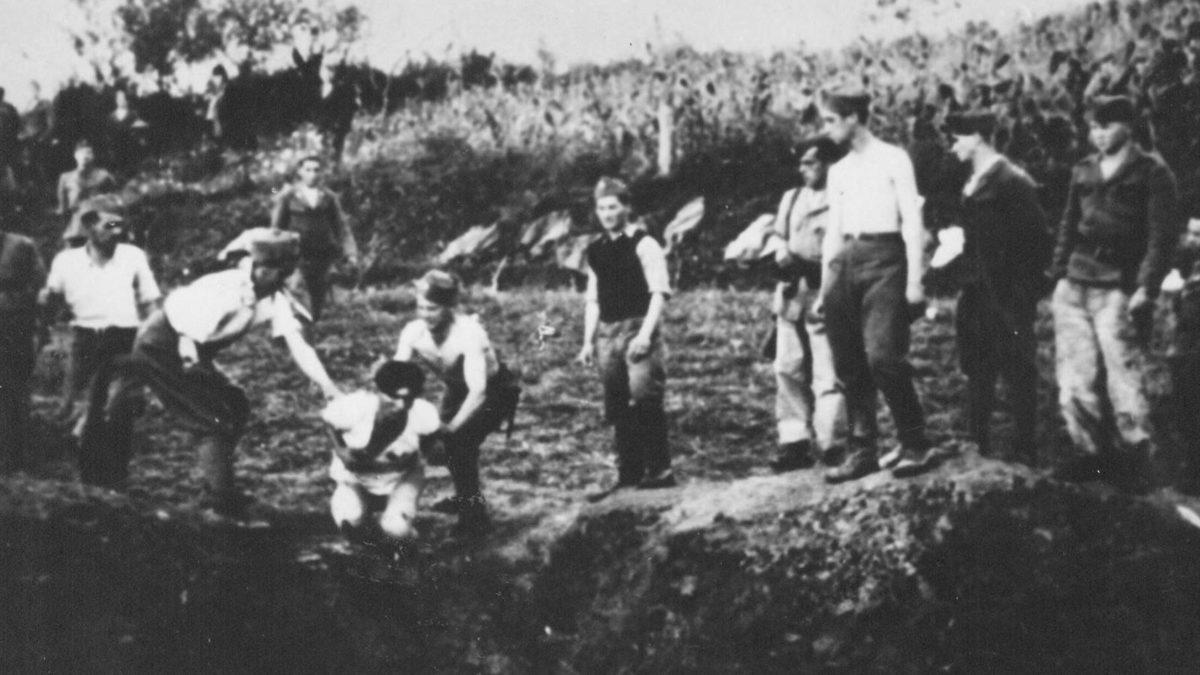 Κροατία στρατόπεδο συγκέντρωσης Ουστάσι
